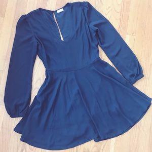 SheInside Black Dress sz L